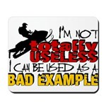 Not Totally Useless - Snowmobiling Mousepad