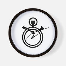 Stop watch clock Wall Clock