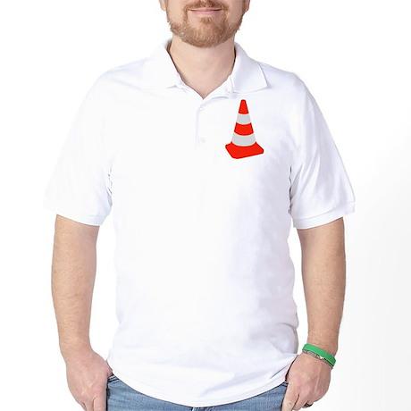 Traffic cone Golf Shirt