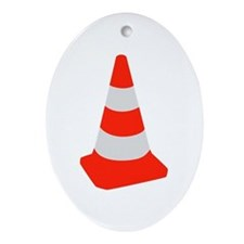 Traffic cone Ornament (Oval)