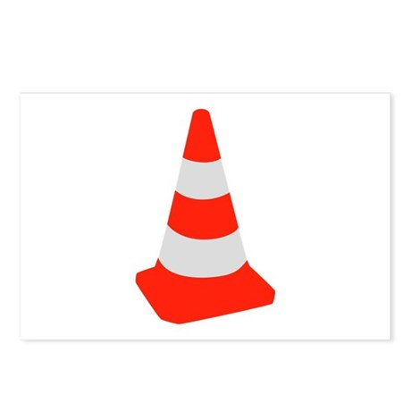 Traffic cone Postcards (Package of 8)