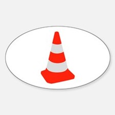 Traffic cone Decal