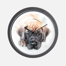 Ransom Fawn Puppy Wall Clock