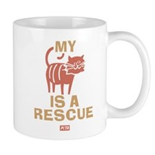 My Cat Is a Rescue Mug