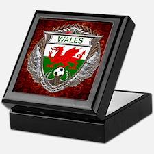 Wales Soccer Keepsake Box