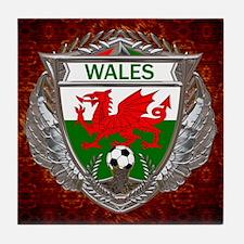 Wales Soccer Tile Coaster