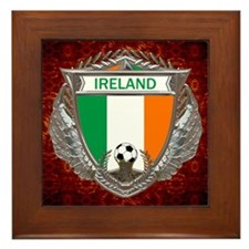 Ireland Soccer Framed Tile