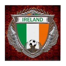 Ireland Soccer Tile Coaster