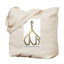Orthodox in Communion with Ro Tote Bag