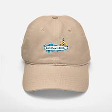 Kill Devil Hills NC - Surf Design Baseball Baseball Cap