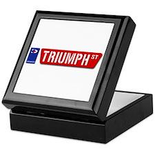 Official Dowco Triumph Street Keepsake Box