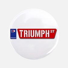 """Official Dowco Triumph Street 3.5"""" Button"""
