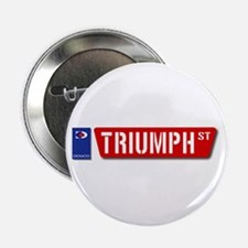 """Official Dowco Triumph Street 2.25"""" Button"""
