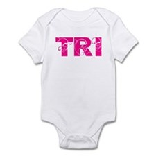 tri = triathlete Infant Bodysuit