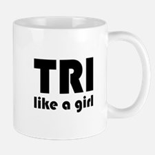 Unique Women triathlete Mug