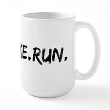 Swim. Bike. Run. Mug