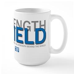 Strength Behind the Shield Mug