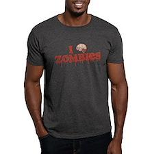 I Brain Zombies T-Shirt