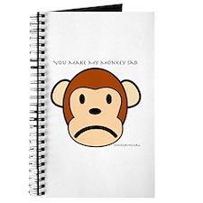 You Make My Monkey Sad Journal