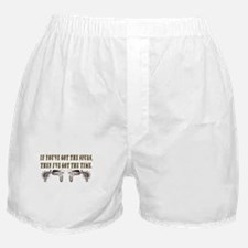 Brokeback Spurs Boxer Shorts
