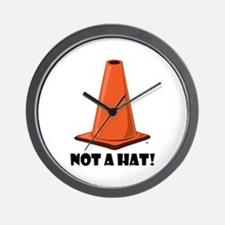 NOT A HAT 1w Wall Clock