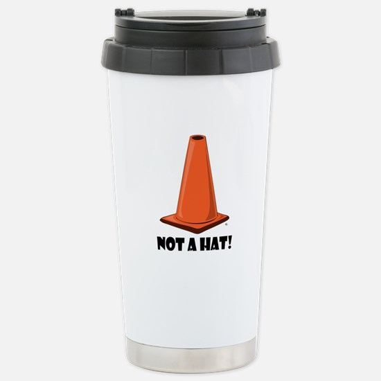 NOT A HAT 1w Stainless Steel Travel Mug