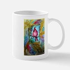 Cardinal, Cheerful, Bird lover, Mug