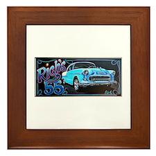 Cute Chevy Framed Tile