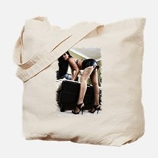 Cool Brunette Tote Bag