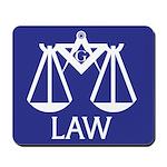 Masonic Legal Mousepad