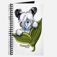Platinum Skye Terrier Journal