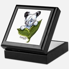 Platinum Skye Terrier Keepsake Box