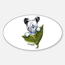 Platinum Skye Terrier Decal