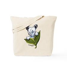 Platinum Skye Terrier Tote Bag