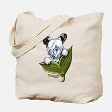 Platinum Skye Terrier Tote Bag