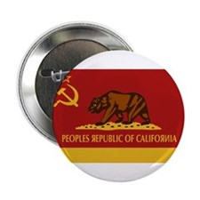 Peoples Republic of California Button