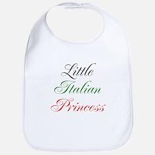 Little Italian Princess Bib