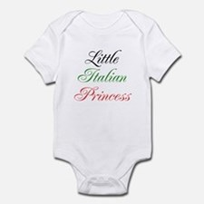 Little Italian Princess Infant Bodysuit