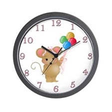 Miss Mouse Wall Clock