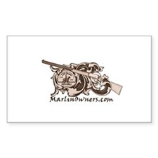 MarlinOwners.Com Rectangle Decal