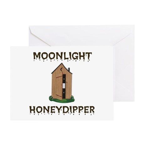 OUTHOUSE CLEANER Greeting Card