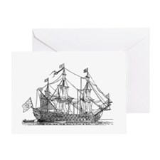 ships ii Greeting Cards