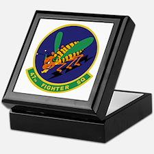 47th Fighter Squadron Keepsake Box