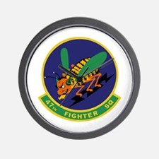 47th Fighter Squadron Wall Clock