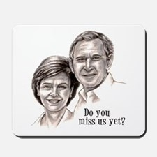 George & Laura Mousepad