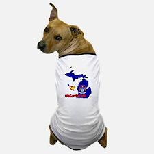 ILY Michigan Dog T-Shirt