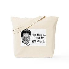 Kim Jong Il Tote Bag