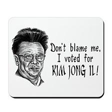 Kim Jong Il Mousepad