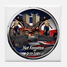 911 NOT FORGOTTEN Tile Coaster