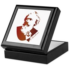 Silhouette Johannes Brahms Keepsake Box